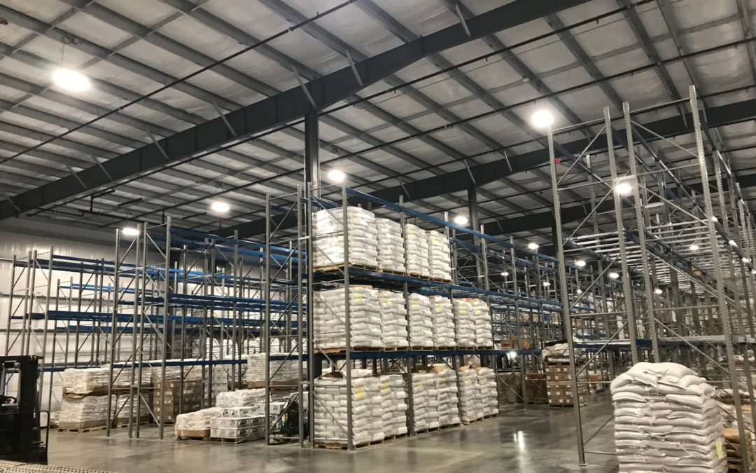 Warehouse Pallet Rack Shelving Installation in New Stanton, PA