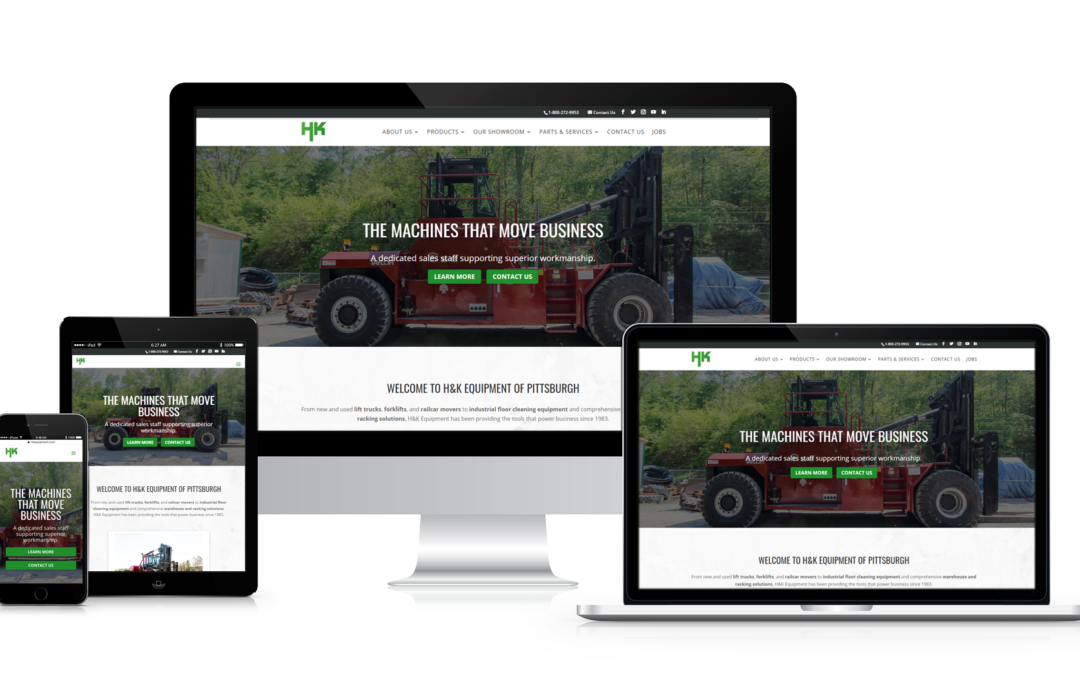 H&K Equipment Announces New Website and Online Showroom